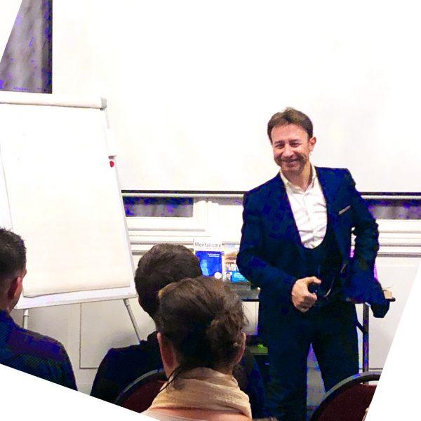Formations portail Pascal de Clermont Mentaliste et coach mental intuitif
