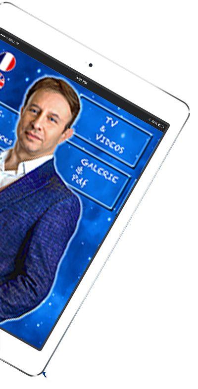 Tablette portail Pascal de Clermont Mentaliste et coach mental intuitif