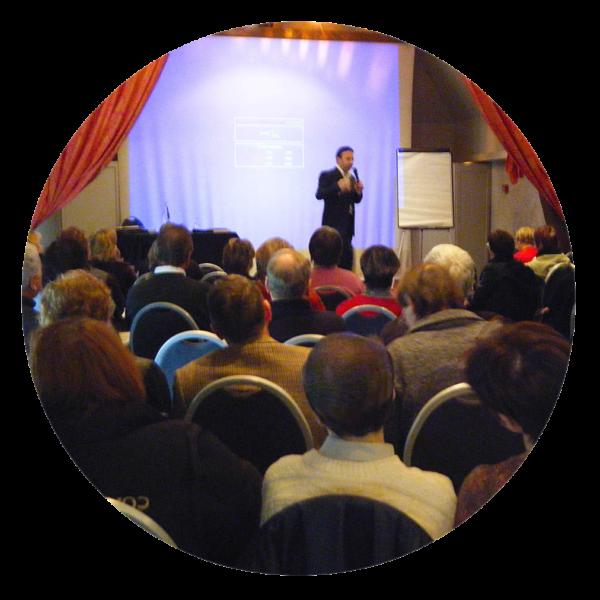 Conférences et shows portail Pascal de Clermont Mentaliste et coach mental intuitif